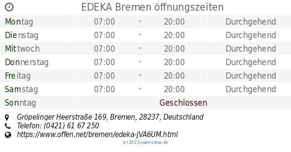 Bremerhaven Offnungszeiten