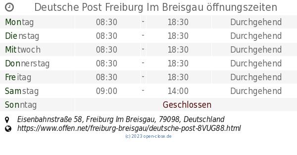 Post Freiburg EisenbahnstraГџe