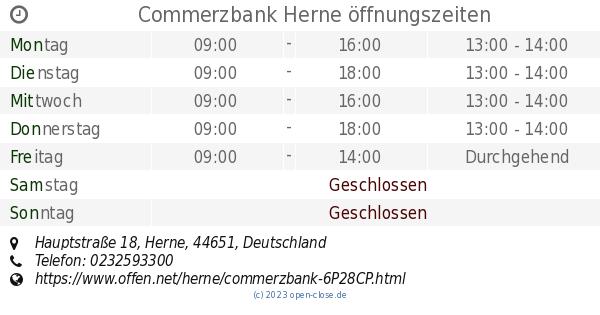 commerzbank herne