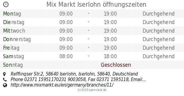 mix markt iserlohn