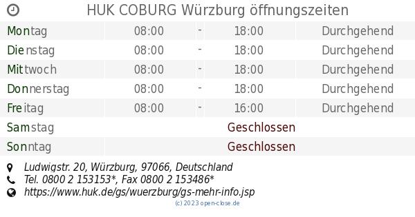 Huk Coburg Würzburg