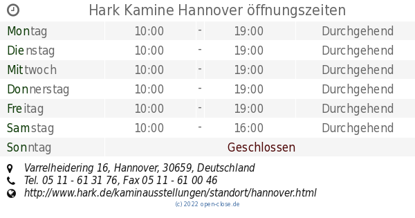 Kamine Hannover hark kamine hannover öffnungszeiten varrelheidering 16