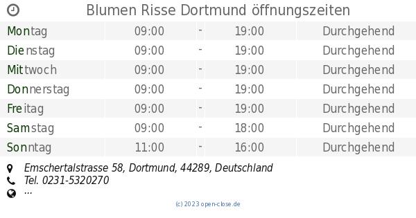 Gartencenter Risse Dortmund Solde Offnungszeiten