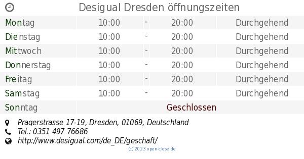 buying new fantastic savings shop best sellers Desigual Dresden öffnungszeiten, Pragerstrasse 17-19