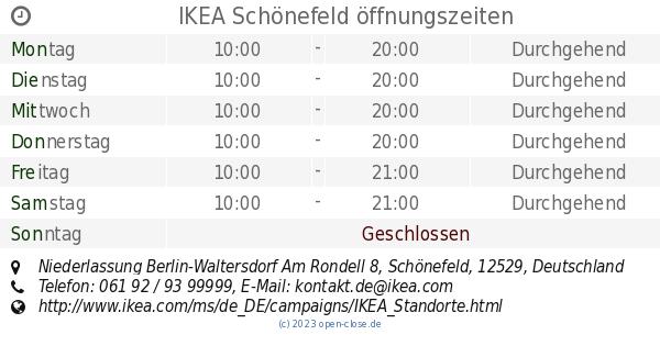 Ikea Unna öffnungszeiten : ikea sch nefeld ffnungszeiten niederlassung berlin waltersdorf am rondell 8 ~ Watch28wear.com Haus und Dekorationen