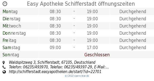easy apotheke schifferstadt
