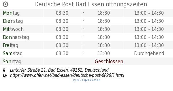 Post Bad Durkheim Offnungszeiten